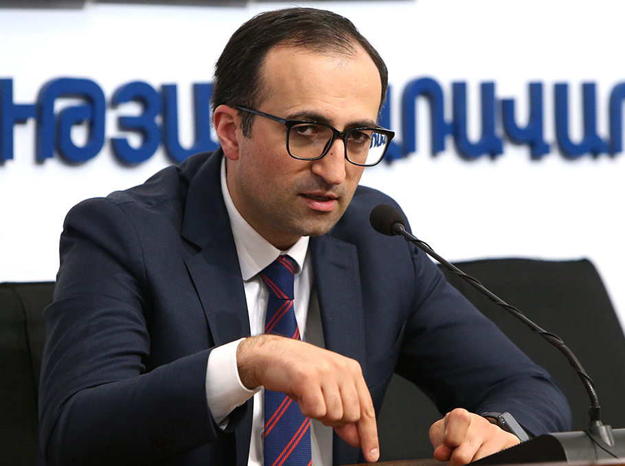 Arsen Torosyan comments on the record number of confirmed COVID-19 ...