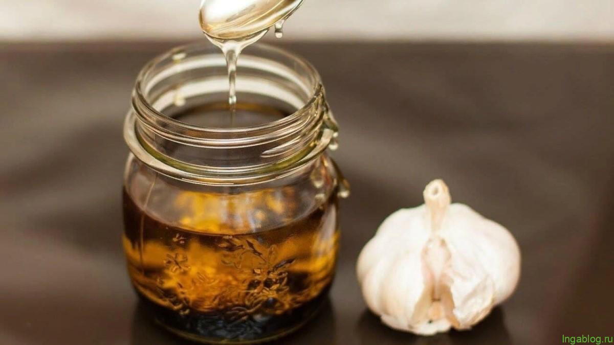 Чесночное масло для нашего здоровья.
