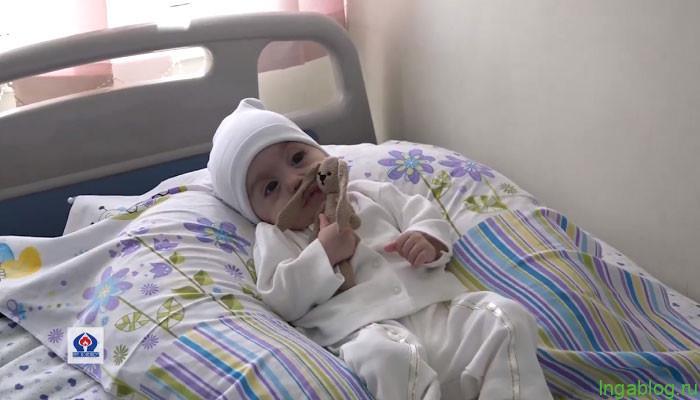 9 ամսական Գոռը, ով ծնված օրվանից պայքարում է ծանր հիվանդության դեմ, առաջին անգամ տուն է գնում