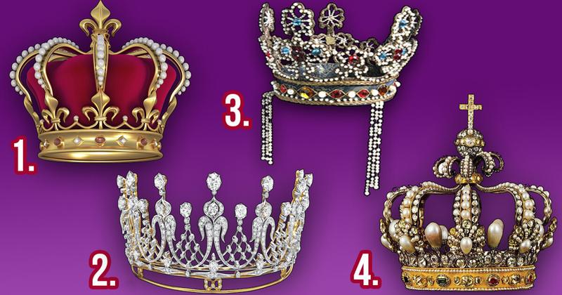 Тест: Выберите корону и узнайте, какая вы на самом деле королева