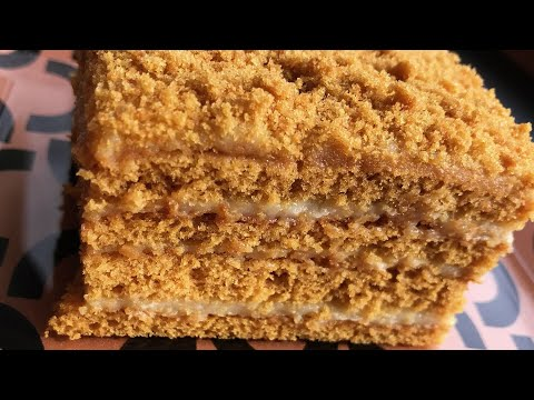 Медовый торт Մեղրով տորթ - YouTube