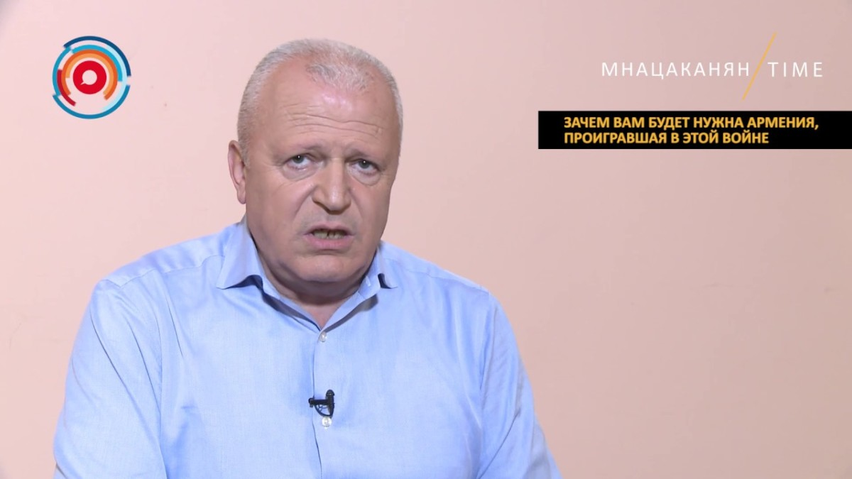 Мнацаканян/Time: Зачем вам будет нужна Армения, проигравшая в этой ...