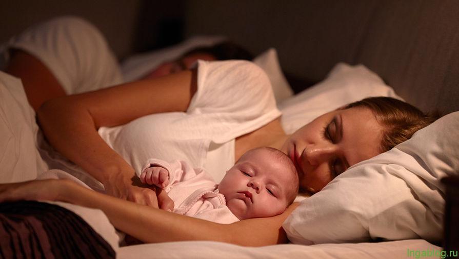 Почему младенцам нельзя спать вместе с родителями - Газета.Ru