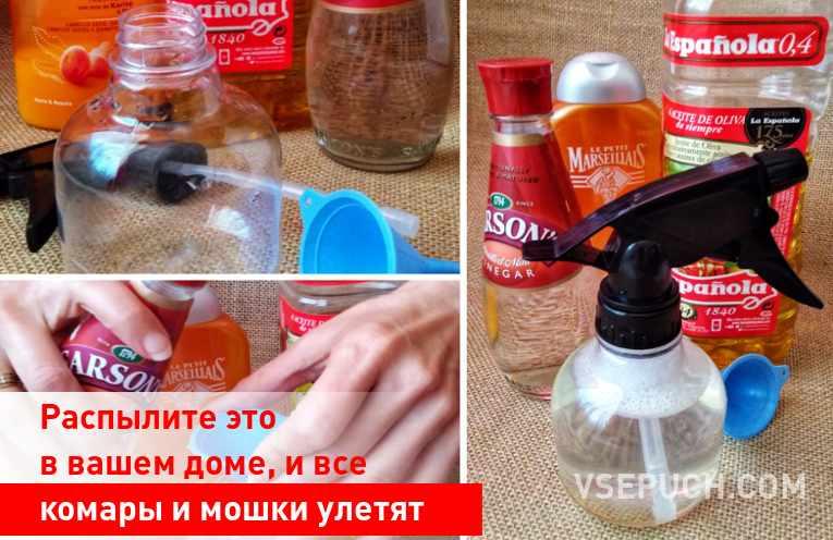 Распылите это в вашем доме, и все комары и мошки улетят