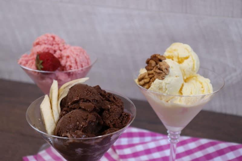 3 Պաղպաղակ հեշտ և մատչելի․ Շոկոլադե, Ելակով և Վանիլային պաղպաղակ Ինչպես պատրաստել