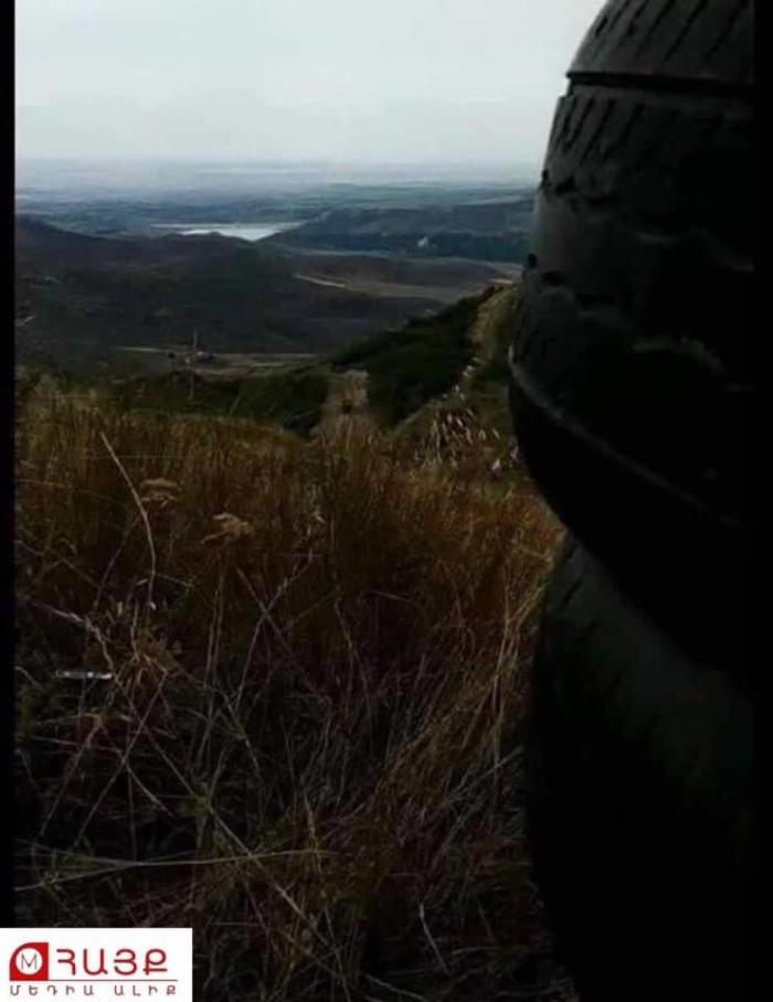 Տեսարան հայկական զինուժի կողմից գրավված Ղարաղայի բարձունքից